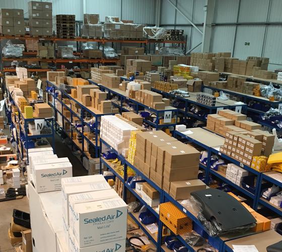 JCB Parts Warehouse 1