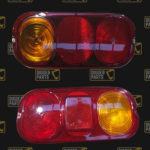 JCB Replacement Rear Light Lenses